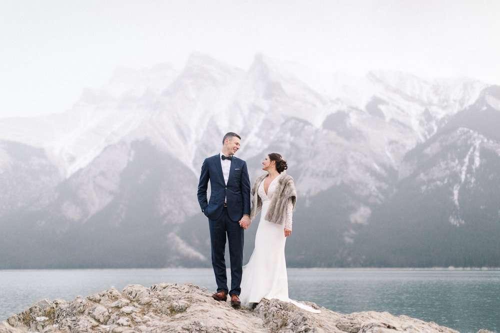 Torsten and Nina's Fairmont Banff Springs Winter Wedding