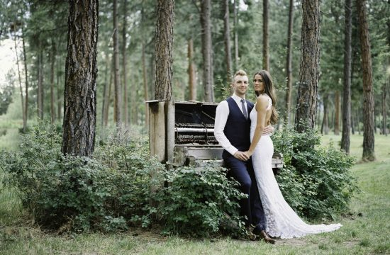 Kelowna wedding Bottega old piano