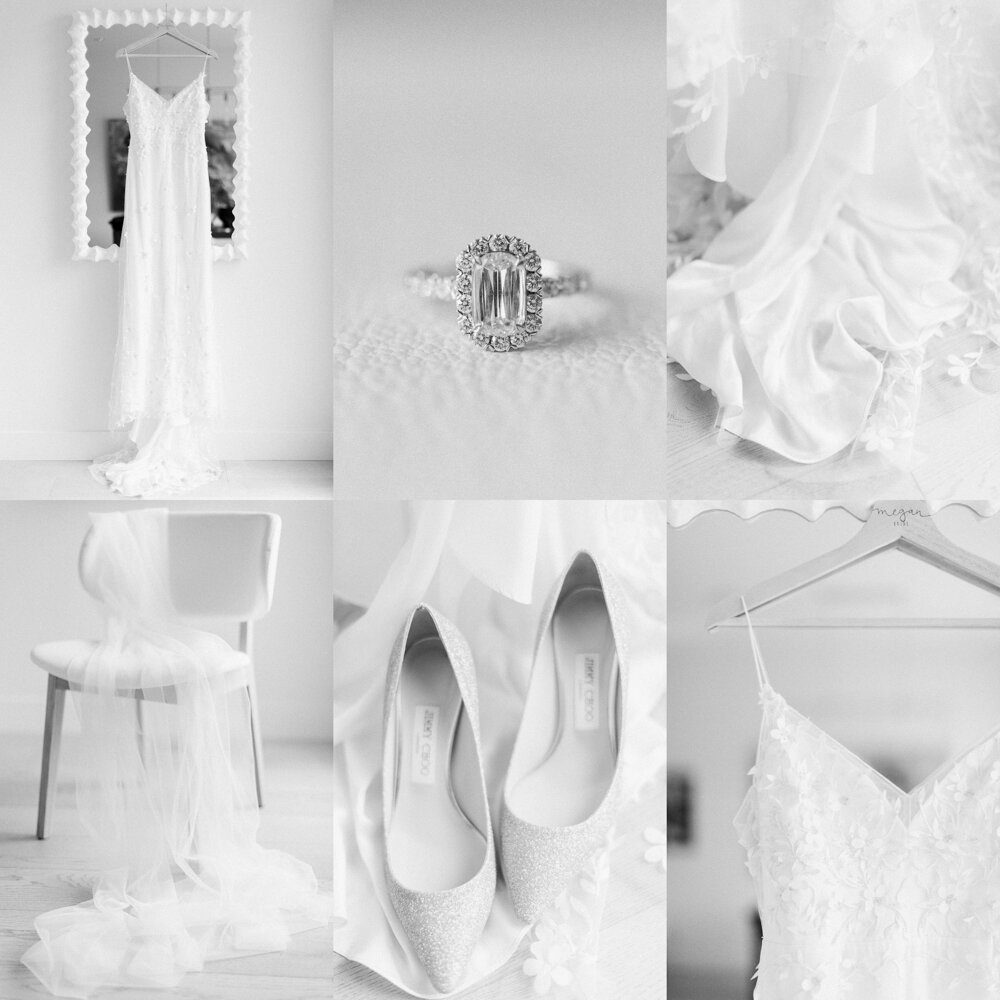 Calgary Lake House wedding getting ready details