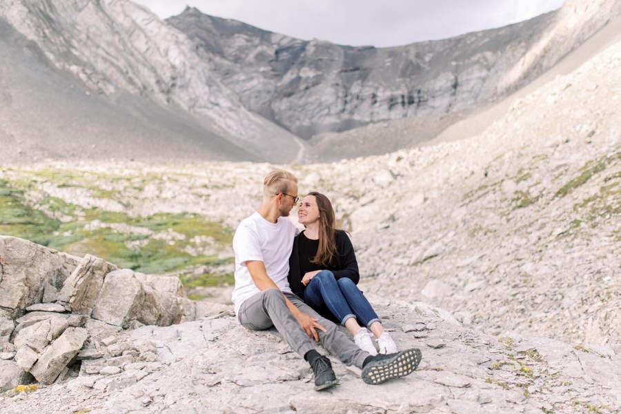 Engagement session Banff