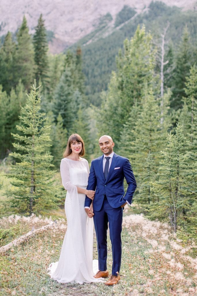 Calgary wedding photography Banff wedding photoshoot