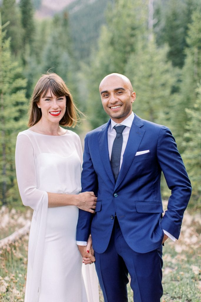 Calgary wedding photography Banff wedding photoshoot  couple portraits