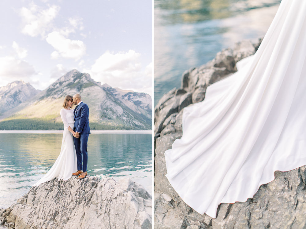 Calgary wedding photography Banff wedding photoshoot lake minnewanka details