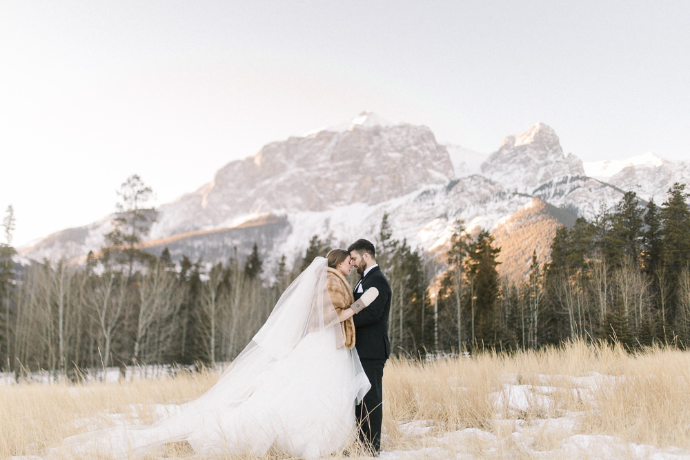 Calgary wedding photography Silvertip New years eve wedding canmore