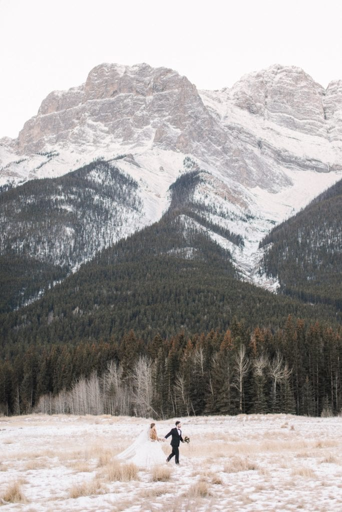 Calgary wedding photography-Silvertip New years eve wedding canmore mountains