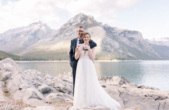 Nick and Emilys post wedding Banff photo shoot