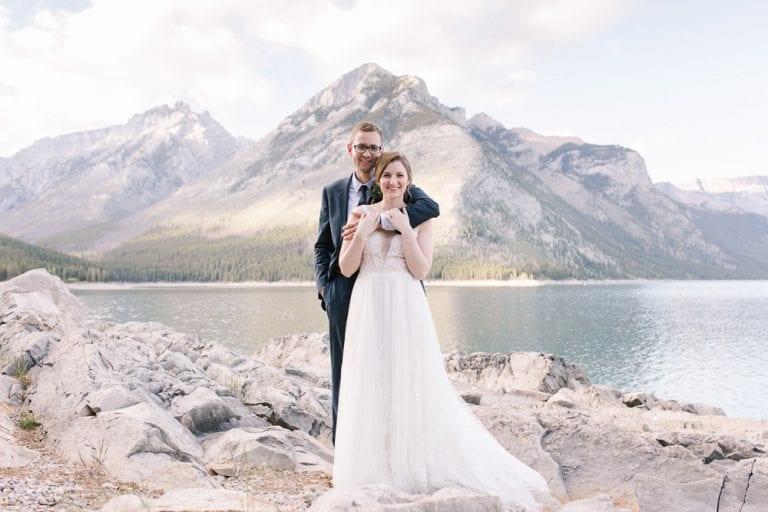 Nick and Emilys post wedding Banff photo shoot