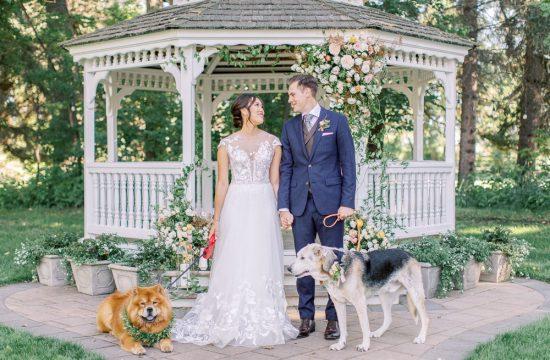 A Norland Estate Wedding Calgary wedding photographer the ceremony