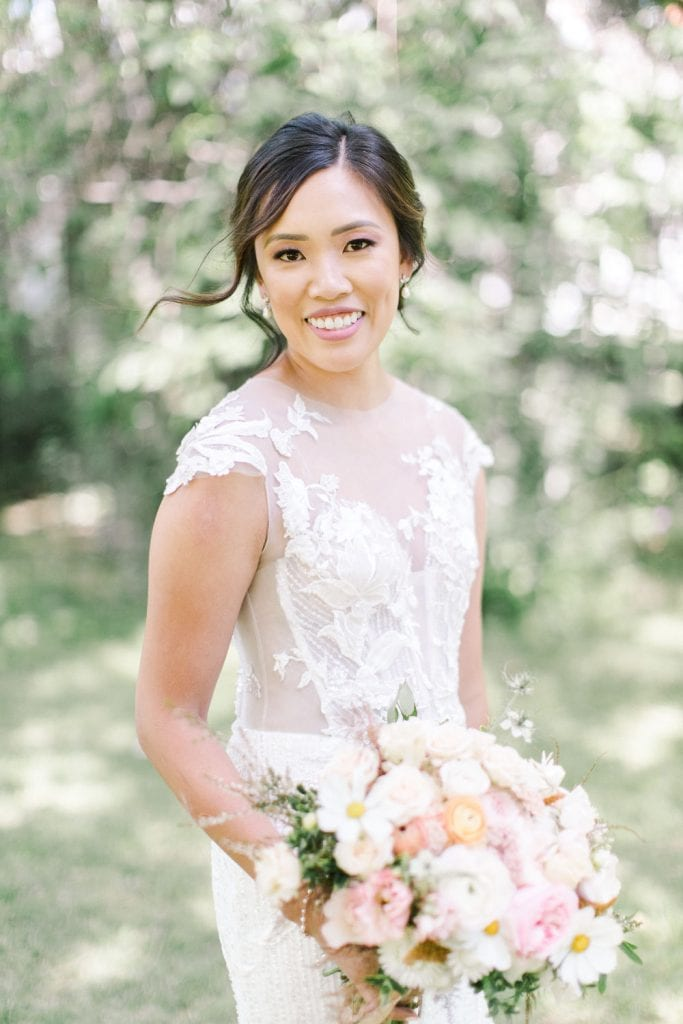 A Norland Estate Wedding Calgary wedding photographer the bride portraits