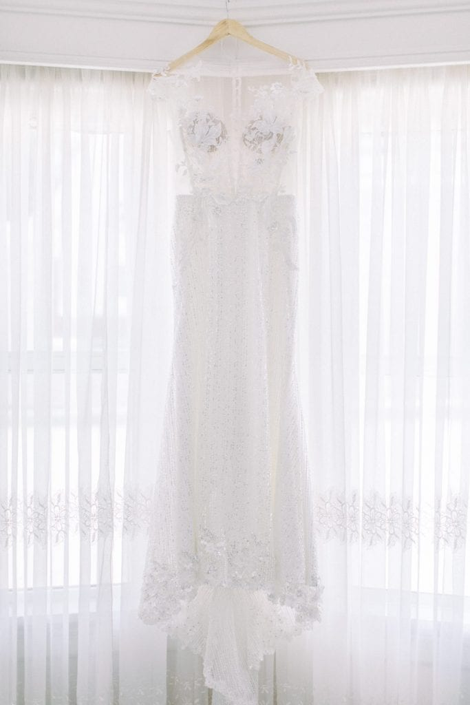 A Norland Estate Wedding Calgary wedding photographer gown