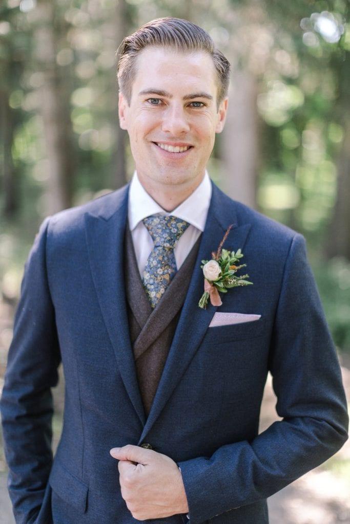A Norland Estate Wedding Calgary wedding photographer the groom