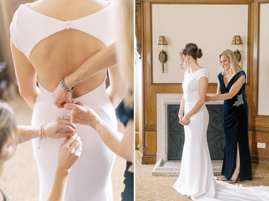 Banff wedding photography bride getting ready