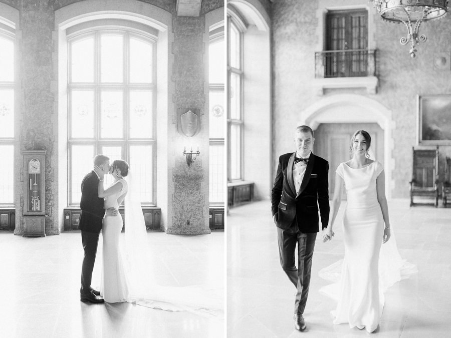 Banff wedding photography couple portrait mt Steven hall