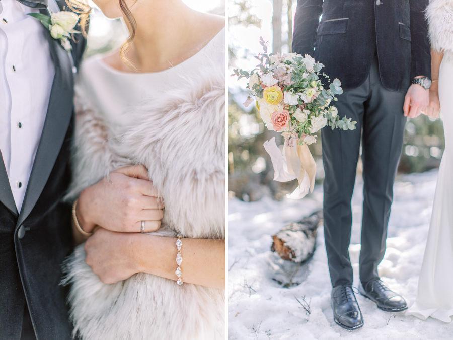 Banff wedding photography couple portrait